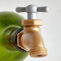 Quirky Twist and Spout Wine Pourer by Fred from ModCloth