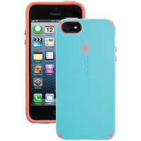 SPECK 71151-C197 iPhone(R) 5/5s CandyShell(R) Case (Pool Blue/Wild Salmon Pink)