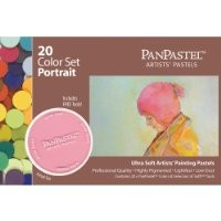 Armadillo Art and Craft Panpastel Ultra Soft Artist Pastel Portrait Set