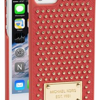 MICHAEL Michael Kors Studded Leather iPhone 5 & 5s Case - Red