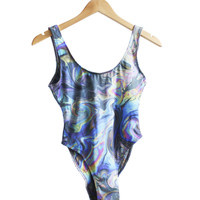 Oil Slick Swimsuit