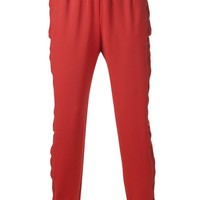 Kye chain track trousers