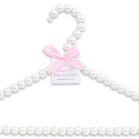 Pearl Hanger (Large Bead) - Hangers Couture LLC