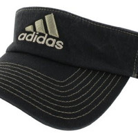 adidas Men's Weekend Warrior Visor, Black/Clay S09/Iron Grey, One Size Fits All
