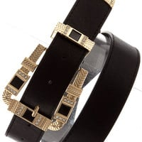 Bonafide Love Belt- Blk
