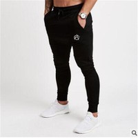 Vanquish 2018 NEW GYMS Mens Joggers Pants Fitness Casual Fashion Brand Joggers Sweatpants Bottom Snapback Pants Men Casual Pants