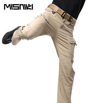 High Quality Spring Autumn Tactical Pants Men Cotton Military Casual Cargo Pants For Men
