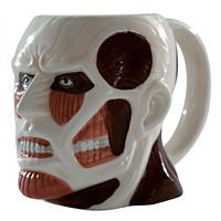 Attack On Titan - Titan Head 16oz Molded Mug