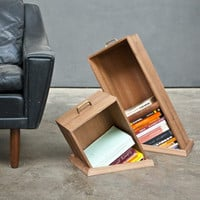 Hole in The Floor Bookcase by Raw Edges