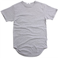 Original Long T-Shirt Heather Grey