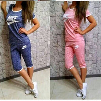 """NIKE"" Fashion Leisure Sports Set Two-piece"