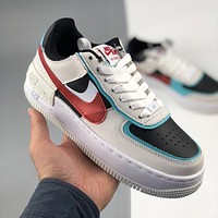 Nike Air Force 1 AF1 XHU built-in soft sole cushioned casual shoes