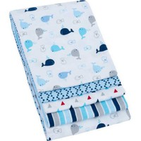 Garanimals 4-Pack Receiving Blankets, Blue - Walmart.com