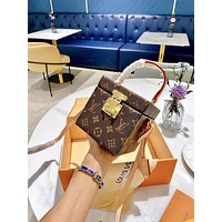 lv louis vuitton women leather shoulder bags satchel tote bag handbag shopping leather tote crossbody 239