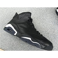 "Air Jordan 6 ""Black Cat"" Basketball Shoes 36-47"