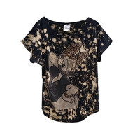 SALE Daisy Duck Disney Top T-Shirt Tee Women's Clothing Acid Washed Donald Duck Gift For Her Casual Grunge Punk Graphic Tee 90's Cartoons