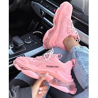 Balenciaga Shoes High Quality Contrast Crystal clear shoes Triple sole Shoes-3