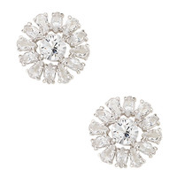 Kate Spade Rise To The Occasion Studs Clear/ Silver ONE