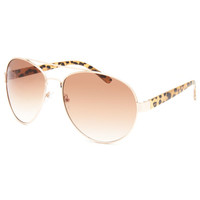 Full Tilt Mallory Sunglasses Leopard One Size For Men 26028543501