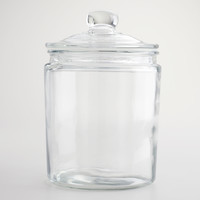 Half-Gallon Glass Storage Jar - World Market