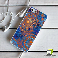 Old Mandala Printing Christmas Gifts 030 iPhone 5 5S Case by Avallen