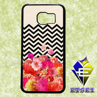 Chevron Floral a1bdb67d6a case For Samsung Galaxy S3/S4/S5/S6 Regular/S6 Edge and Samsung Note 3/Note 4 case