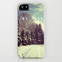 get lost iPhone & iPod Case by Deb Schmill