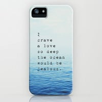 Love so Deep iPhone & iPod Case by Sara Eshak
