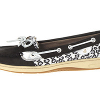 Sperry Top-Sider Angelfish Black Nubuck/Sparkle Leopard - Zappos.com Free Shipping BOTH Ways