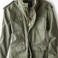 AEO Women's Hooded Surplus Jacket