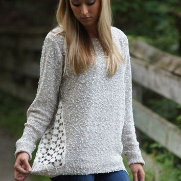 This Is Love Sweater (Oatmeal)