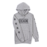 Women's Champaine & Cocagne Pullover Hoodie (Heather Grey) – Crooks & Castles