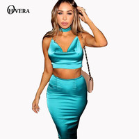 Slim Silk Stain  bodycon bandage two pieces Robe V Neck Female Dress Fashion  Womens Sexy Dresses Party Night Club Dress