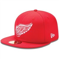 New Era Detroit Red Wings League Basic Fitted Hat