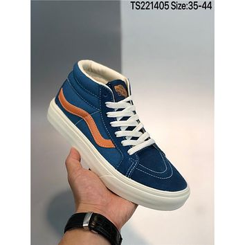 Vans Sk8-Mid cheap fashion Mens and womens sports shoes