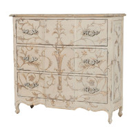 French Scroll Chest