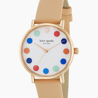 Kate Spade Multi Dot Metro Watch Vachetta ONE