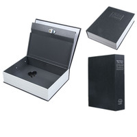 Safty Box Money Secret Storage Security Safe Locker Money Jewelry Safty Collection Case With Book Appearance
