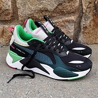 PUMA RS-X TOYS Colour collision stitching daddy shoes men and women's leisure running shoes