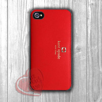 kate spade red-1n44 for iPhone 4/4S/5/5S/5C/6/ 6+,samsung S3/S4/S5,samsung note 3/4