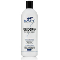 FRAGFRE Moisturizing Body Wash 16 oz - Gentle Body and Facial Cleanser - Sulfate Free Fragrance Free - Normal Oily Dry and Sensitive Skins - Vegan