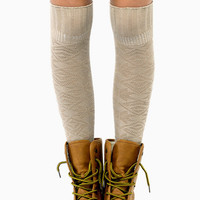 Cabin Fever Knee High Socks $14