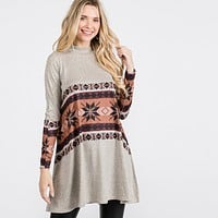 Holiday Spirit Tunic Collection ~ Snowflakes