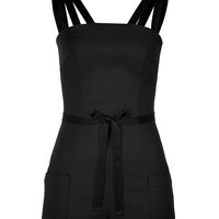 Olympia Le-Tan - Cotton Quilted Playsuit