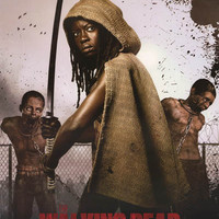 Walking Dead Michonne Poster 24x36