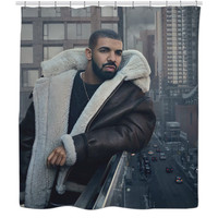 Drake shower curtain