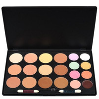 Professional 20 Colors Cream Concealer Camouflage Makeup Palette Contouring Kit