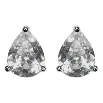 Kanisha Pear Cut Stud Earrings - 7mm | 0 .75ct