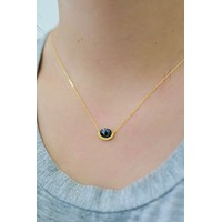 Keep Confident Necklace - Black