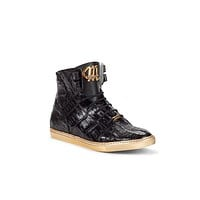 """Mauri - 6129 """"GoldenBoy"""" Hand-Painted Baby Croc Sneakers"""